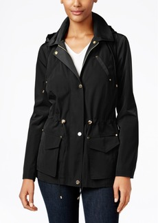Charter Club Petite Hooded Anorak Jacket, Only at Macy's