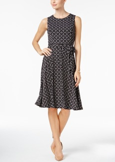 Charter Club Petite Iconic Fit & Flare Dress, Created for Macy's