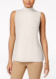 Charter Club Petite Mock-Neck Top, Created for Macy's