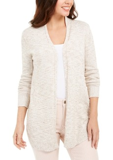 Charter Club Curved-Hem Completer Sweater, In Regular and Petite, Created for Macy's