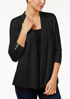 Charter Club Petite Open-Front Cardigan, Only at Macy's