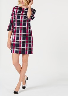 Charter Club Petite Plaid Shift Dress, Created for Macy's