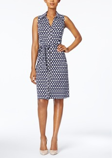 Charter Club Petite Printed Shirtdress, Created for Macy's