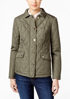 Charter Club Petite Quilted Coat, Only at Macy's