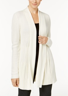 Charter Club Petite Ribbed Open-Front Cardigan, Created for Macy's