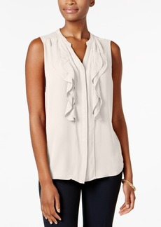 Charter Club Petite Ruffled Blouse, Created for Macy's