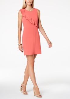 Charter Club Petite Ruffled Shift Dress, Created for Macy's