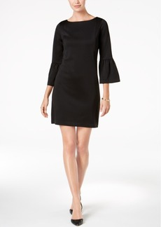 Charter Club Petite Ruffled-Sleeve Sheath Dress, Created for Macy's