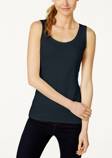Charter Club Petite Sleeveless Shell, Created for Macy's