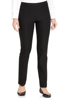 Charter Club Petite Tummy-Control Slim-Leg Pants, Only at Macy's