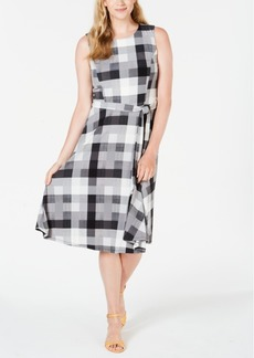 Charter Club Plaid Midi Dress, Created for Macy's