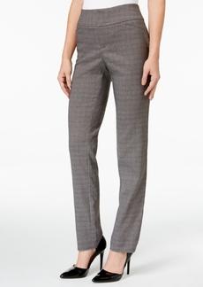 Charter Club Plaid Slim-Leg Pants, Only at Macy's