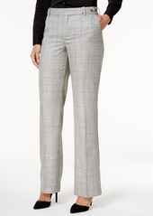 Charter Club Plaid Tab-Waist Trousers, Only at Macy's