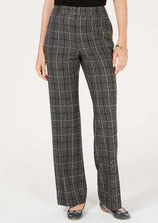 Charter Club Plaid Trousers, Created for Macy's