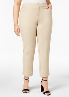 Charter Club Plus Size Ankle-Length Pants, Created for Macy's
