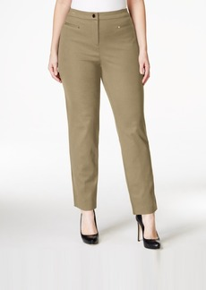 Charter Club Plus Size Ankle-Length Trousers, Only at Macy's