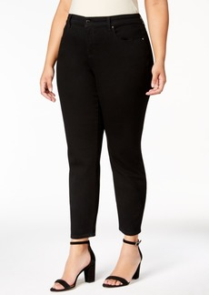 Charter Club Plus Size Bristol Skinny Ankle Jeans, Created for Macy's