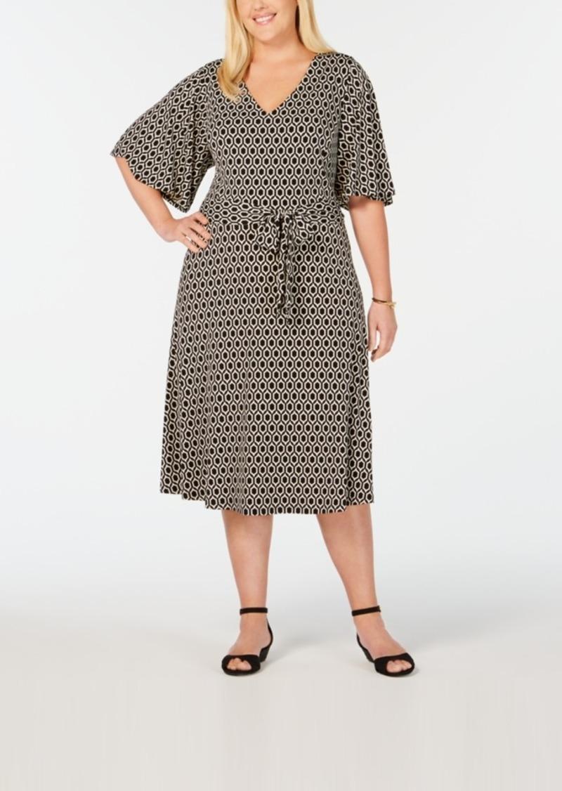 Plus Size Honey Iconic Midi Dress, Created for Macy\'s
