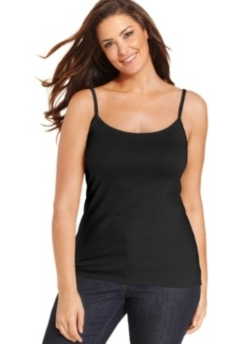 Charter Club Plus Size Layering Camisole, Only at Macy's