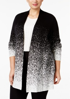 Charter Club Plus Size Ombre Duster Cardigan, Only at Macy's