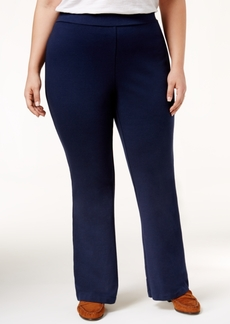 Charter Club Plus Size Pull-On Bootcut Pants, Only at Macy's