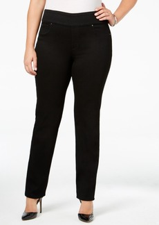 Charter Club Plus Size Pull-On Slim-Leg Jeans, Only at Macy's