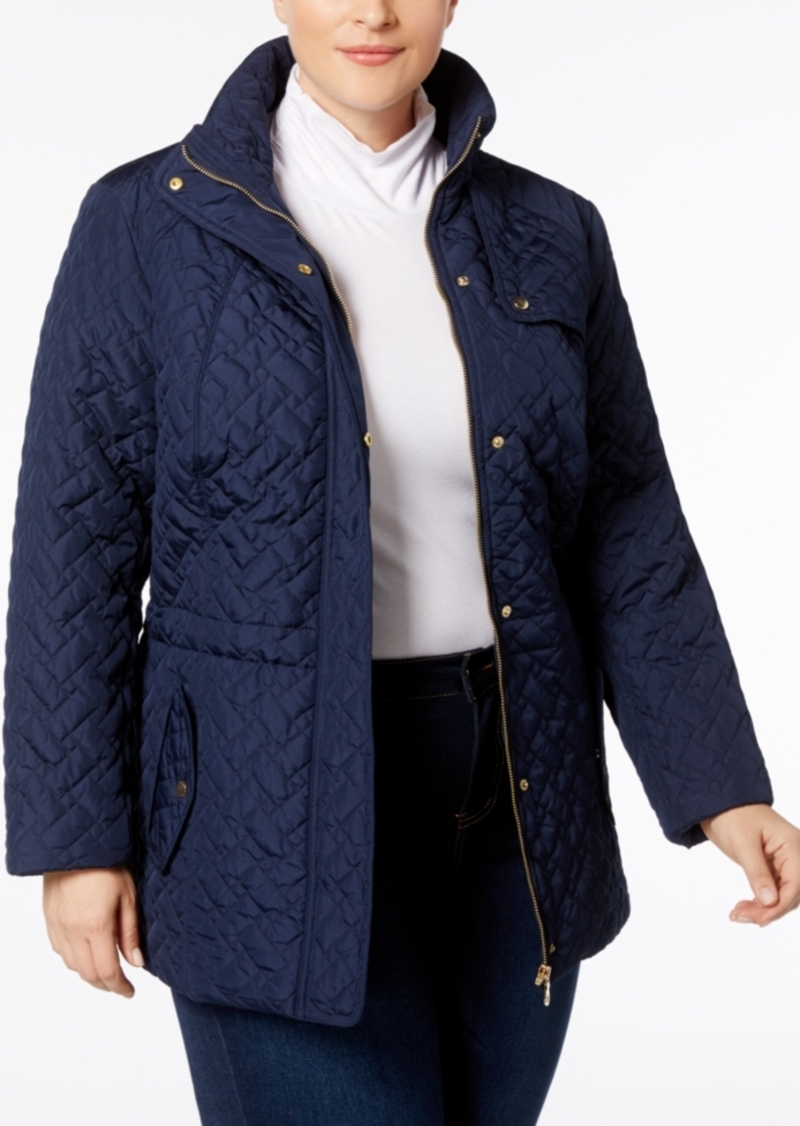 5218574af43 On Sale today! Charter Club Charter Club Plus Size Quilted Jacket ...