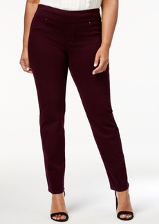 Charter Club Plus Size Pull-On Slim Leg Pants, Created for Macy's