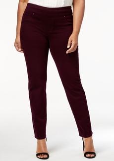 Charter Club Plus Size Slim-Leg Pants, Created for Macy's