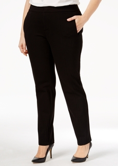 Charter Club Plus Size Slim-Leg Pants, Only at Macy's
