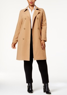 Charter Club Plus Size Trench Coat, Created for Macy's