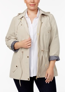 Charter Club Plus Size Utility Jacket, Created for Macy's