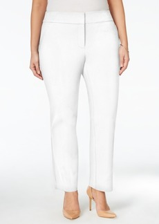 Charter Club Plus Size Zip-Pocket Ankle Pants, Only at Macy's