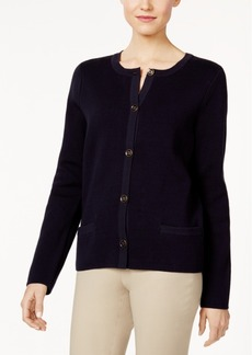 Charter Club Pocketed Cardigan, Only at Macy's