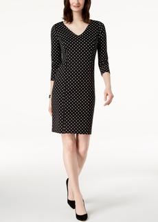 Charter Club Polka-Dot-Print Dress, Created for Macy's