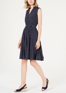 Charter Club Polka Dot Shirtdress, Created for Macy's