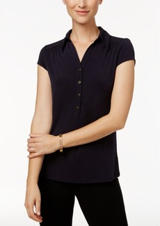 Charter Club Polo Top, Only at Macy's