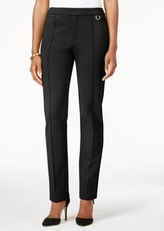 Charter Club Ponte Slim-Leg Pants, Only at Macy's