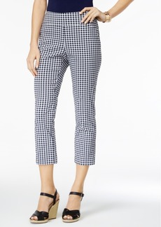 Charter Club Print Capri Pants, Only at Macy's