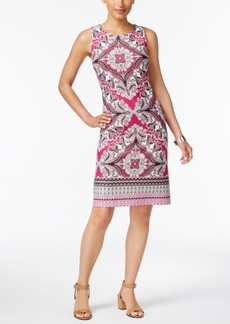 Charter Club Print Shift Dress, Only at Macy's