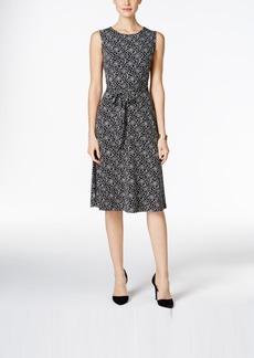Charter Club Print Tie-Waist Dress, Only at Macy's