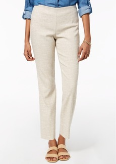 Charter Club Printed Ankle-Length Pants, Created for Macy's