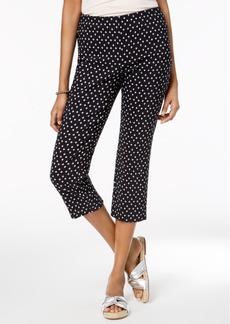 Charter Club Printed Capri Pants, Created for Macy's