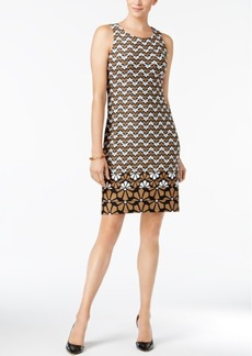 Charter Club Printed Sleeveless Dress, Created for Macy's