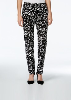 Charter Club Printed Slim-Leg Pants, Only at Macy's