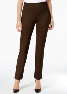 Charter Club Printed Tummy-Control Pants, Created for Macy's