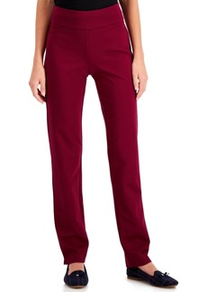 Charter Club Pull-On Ponte-Knit Pants, Created for Macy's