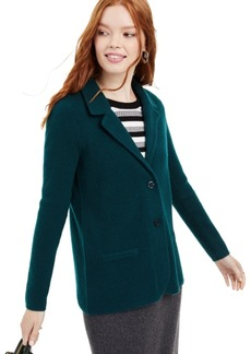 Charter Club Pure Cashmere Blazer, Created for Macy's