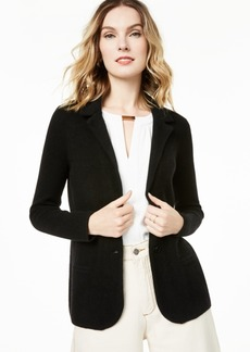 Charter Club Pure Cashmere Blazer, Regular & Petite Sizes, Created for Macy's