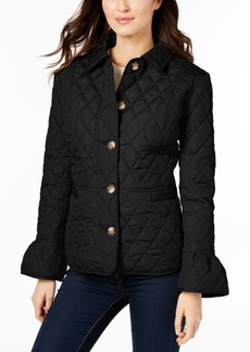 Charter Club Quilted Bell-Sleeve Jacket, Created for Macy's